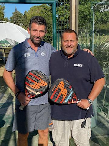 Olivier Launo & Michel Bailly - tennis park marseille